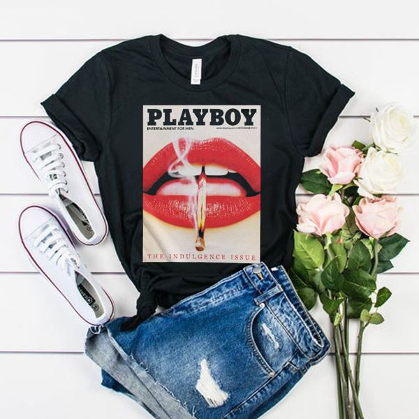 PLAYBOY Plein Lips t shirt