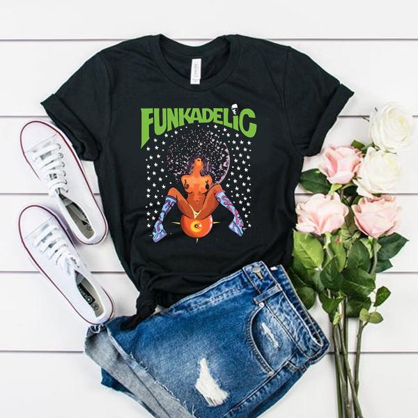 Funkadelic Afro Girl t shirt