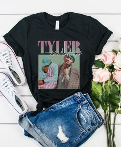 Tyler The Creator 90s Vintage Black Rapper t shirt