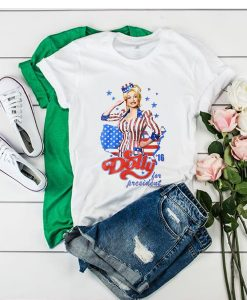 Vintage dolly parton for president t shirt