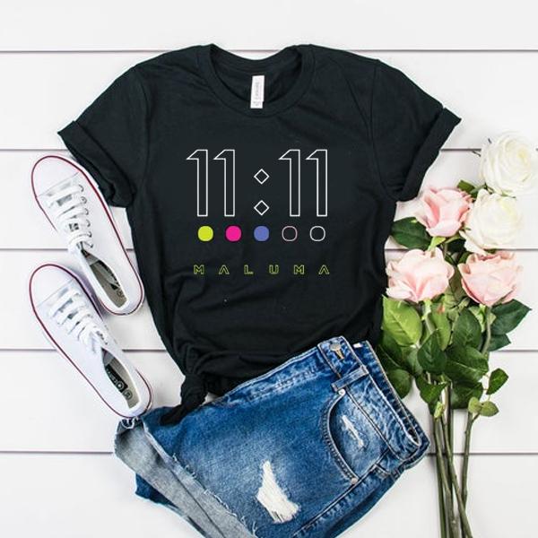 maluma 11 11 dots t shirt
