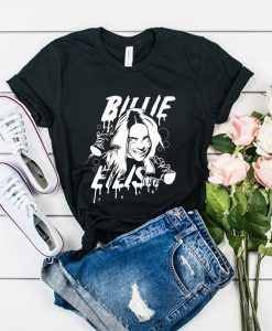 beautiful live Billie Eilish Print t shirt