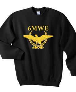 6mwe sweatshirt