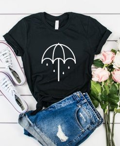 Bring Me The Horizon Umbrella Logo t shirt