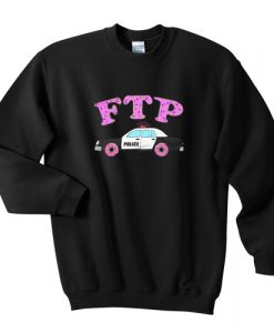 Fuck The Police Sprinkled Donut FTP Version sweatshirt