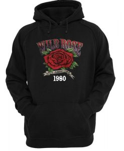 Wild Rose all about eve 1980 hoodie