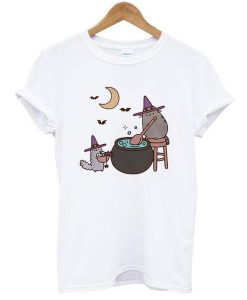 Kawaii PUSHEEN CAT t shirt