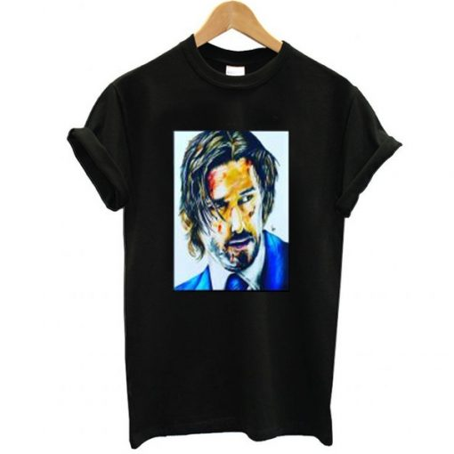 Keanu Reeves as John Wick t shirt