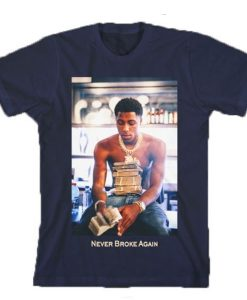 Youngboy Money Stacks Never Broke Again t shirt
