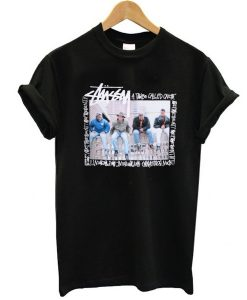 stussy a tribe called t shirt